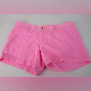 Lily Pulitzer Callahan Hot Pink Shorts Size 2 NWOT